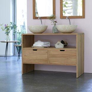 Les Essentiels 110cm Vanity Unit Base Only By Tikamoon