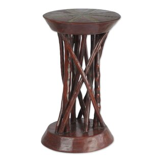 Norden Wood End Table by Bloomsbury Market