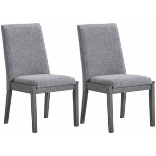 Banach Upholstered Dining Chair (Set of 2..