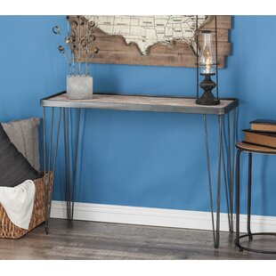 Metal/Wood Console Table b..