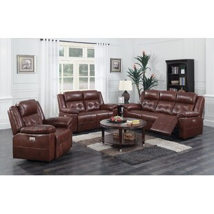 Caverly Reclining Configurable Living Room Set by