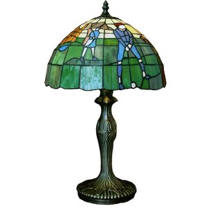 Delmira Tiffany Golf 19 Table Lamp
