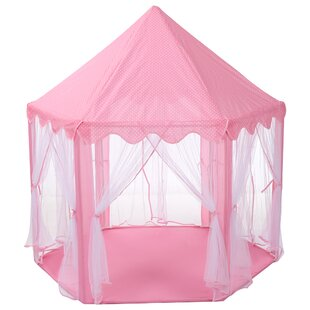 Finether Princess Castle Play Tent with Carrying Bag by LANGRIA