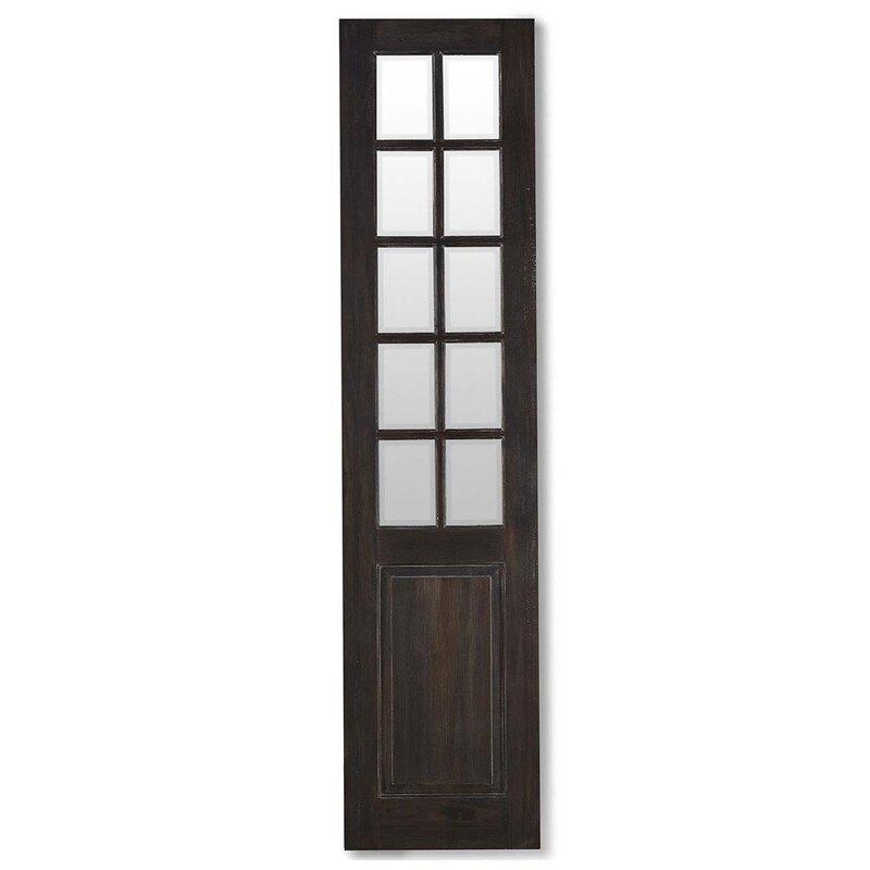 Bramble Co Manchester Solid Wood Mirrored Prehung Interior Door