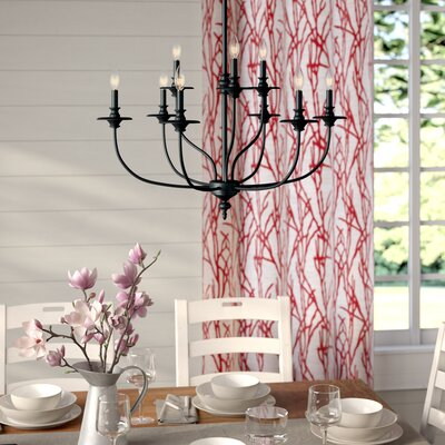 Birch lane camilla 9 light candle style chandelier reviews giverny 9 light candle style chandelier aloadofball Image collections