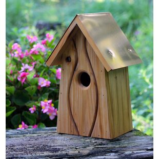 Heartwood Cotton Old Waverly 12 in x 7 in x 6 in Birdhouse