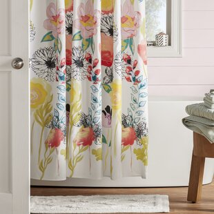 Briaroaks Single Shower Curtain by Bungalow Rose