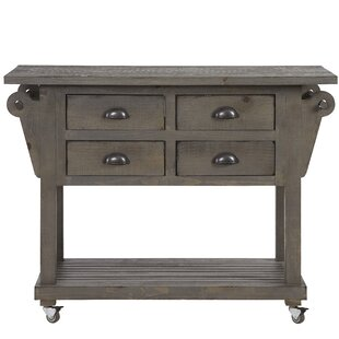 Benedetto Kitchen Island with Drawer One Allium Way