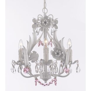 Garden 4-Light Crystal Chandelier by Harrison Lane