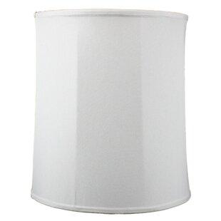 15 Linen Drum Lamp Shade