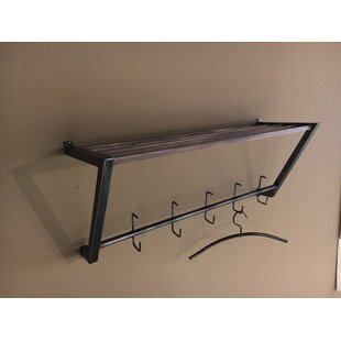 Industrial Wall Mounted Coat Rack By Williston Forge