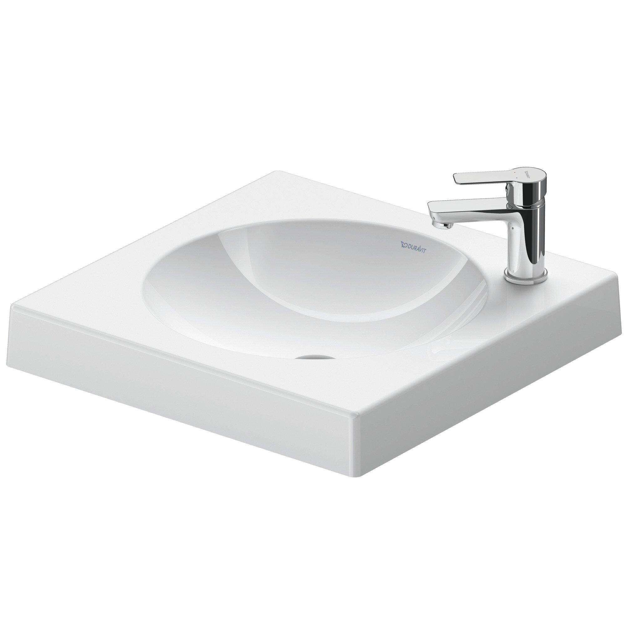 Duravit Architec White Ceramic Rectangular Vessel Bathroom Sink Wayfair