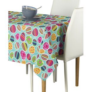 """Vibrant Easter Eggs Blue Table Runners  12/""""x72/"""" or 14/""""x108/"""""""