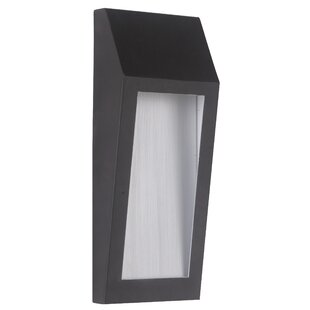 Reviews Duran 1-Light Outdoor Sconce By Latitude Run