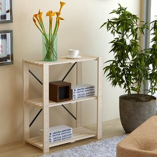 Symple Stuff Etagere Bookcase (Set of 2)