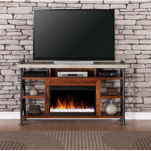 Perei 62 inch  TV Stand with Fireplace