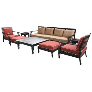 Tre 6 Piece Deep Seating Group with Cushion