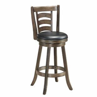 Cardenas 29'' Swivel Bar Stool by Alcott Hill