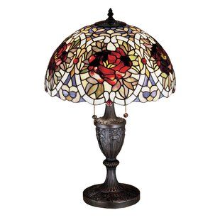Renaissance Rose 24 Table Lamp