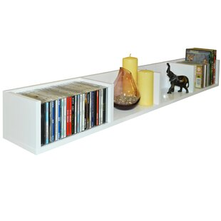 Multimedia Wall Mounted Storage Rack By Symple Stuff