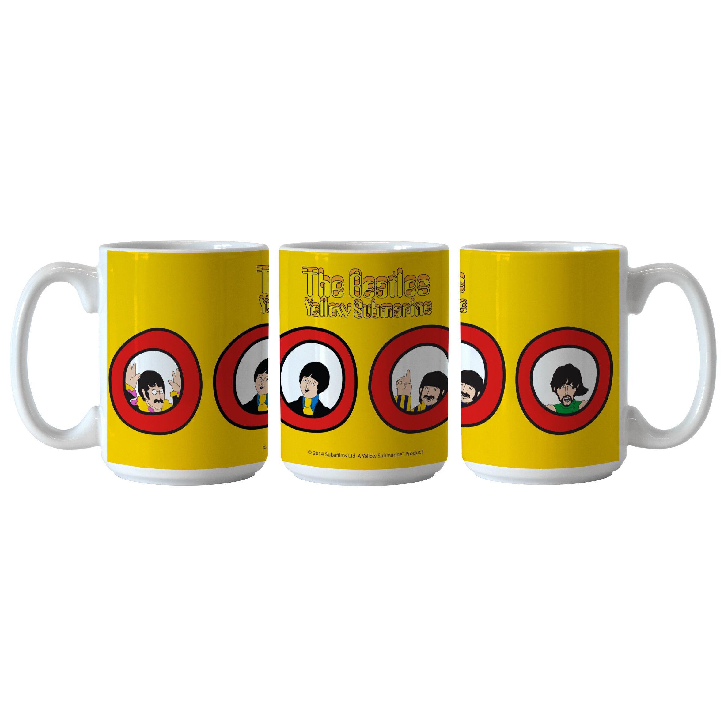 Boelter Brands Beatles Yellow Submarine Port Holes Sublimated Mug Wayfair