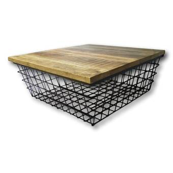 Darby Home Co Walhill Coffee Table With Turned Feet Reviews Wayfair