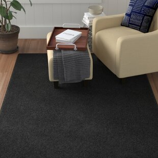 Great Price Alsey Black Area Rug By Winston Porter