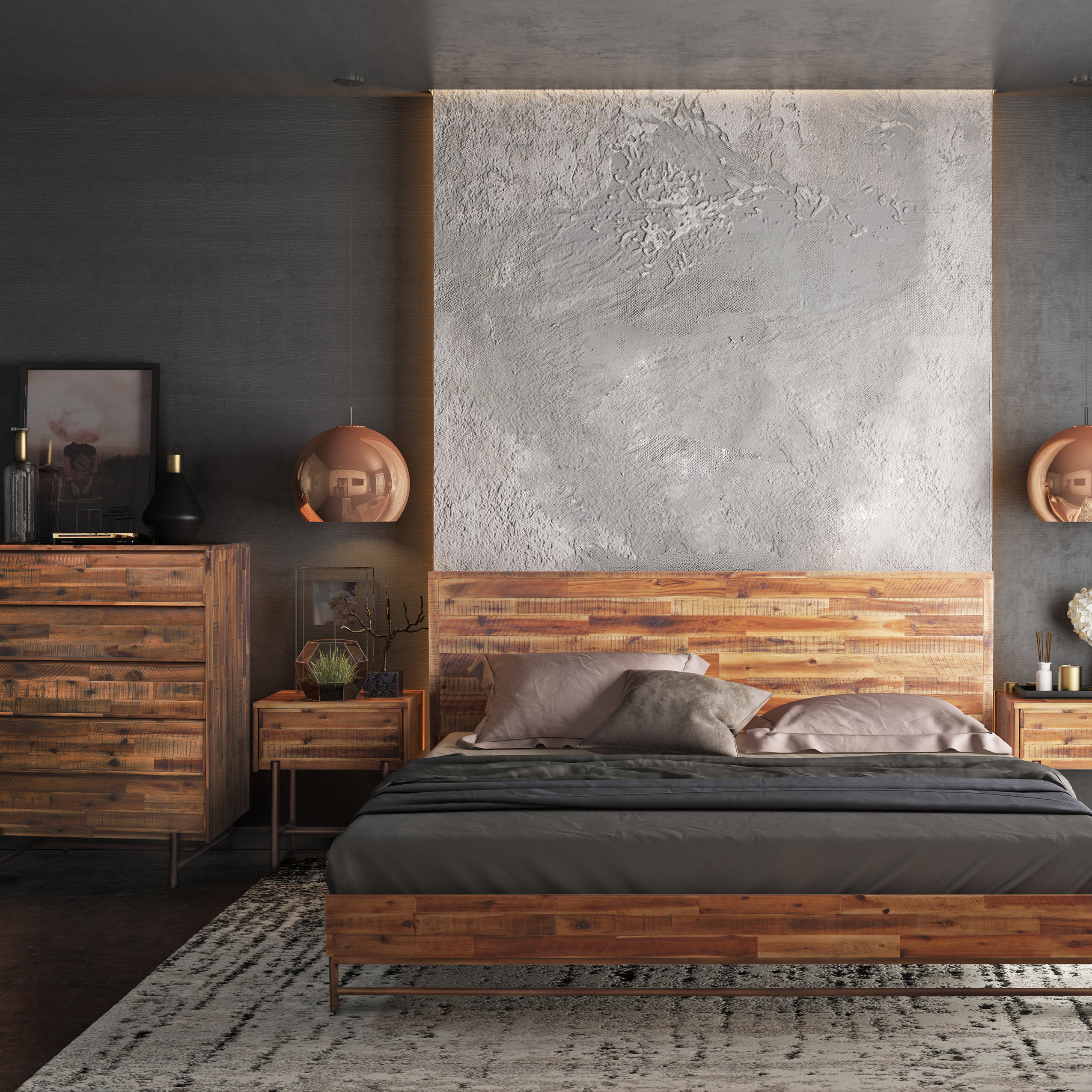 Modern Bedroom Accent Furniture | AllModern