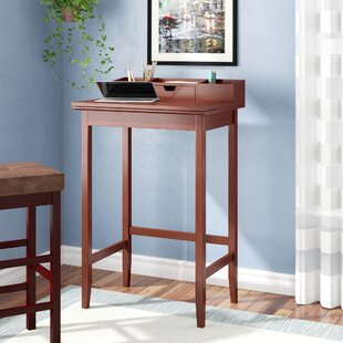Edick Writing Desk with Hutch