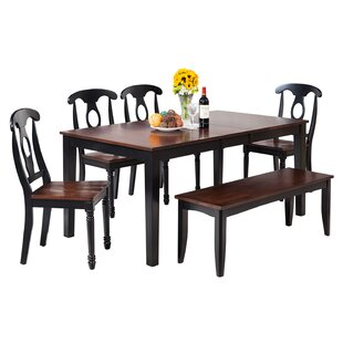 Loon Peak Downieville-Lawson-Dumont Dining Set with Rectangular Table