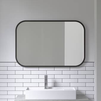 Umbra Hub Modern And Contemporary Bathroom Vanity Mirror Reviews Wayfair