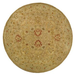 Antiquity Hand-Tufted Wool Brown/Beige Area Rug by Darby Home Co
