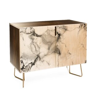 Chelsea Victoria Marble 2 Door Accent Cabinet by East Urban Home