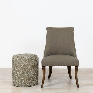 Purchase Covert Side Chair and Ottoman by Charlton Home Reviews (2019) & Buyer's Guide