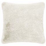 Sonique Square Faux Fur Pillow Cover & Insert