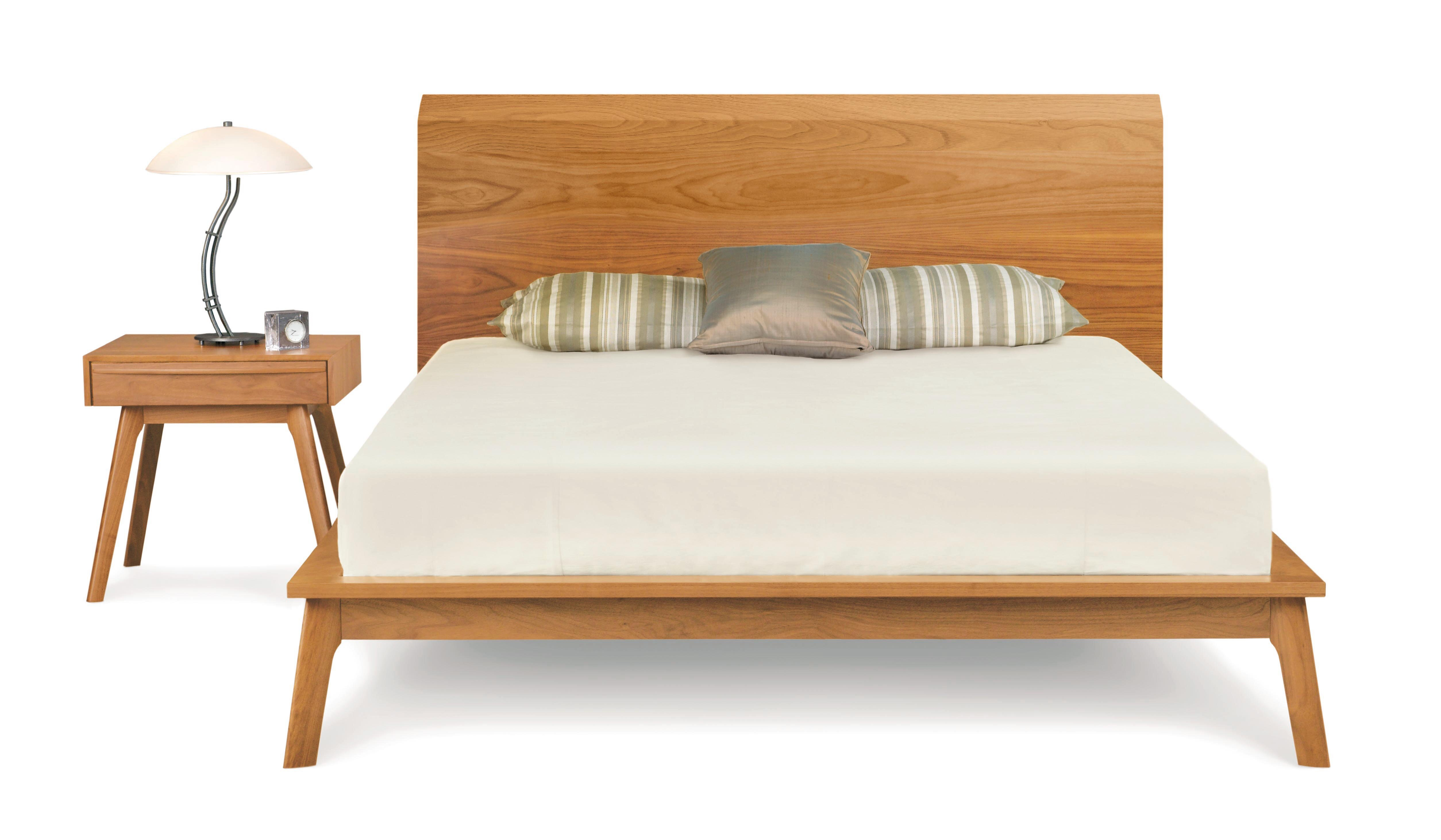 Copeland Furniture Catalina 40 King Bed With Solid Wood Headboard