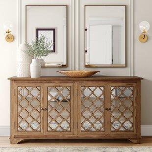Cooper Mirror Accent Cabinet
