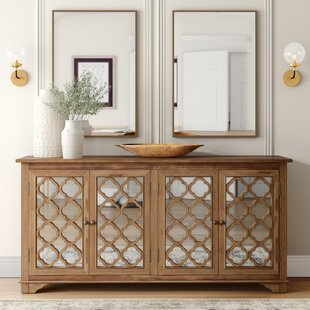 Swifton Mirror Accent Cabinet by Mistana