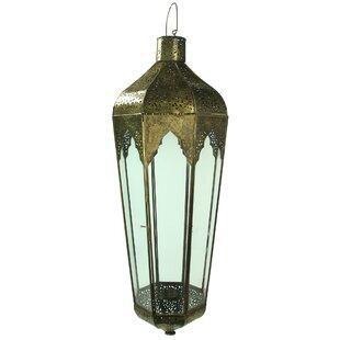 Bloomsbury Market Nona Metal/Glass Lantern