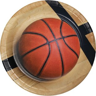 Basketball Paper Dessert Plate (Set of 24)