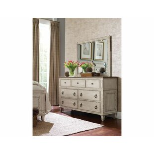 Dicha 7 Drawer Dresser with Mirror