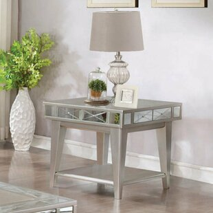 Purchase Coso Solid Wooden End Table by Rosdorf Park
