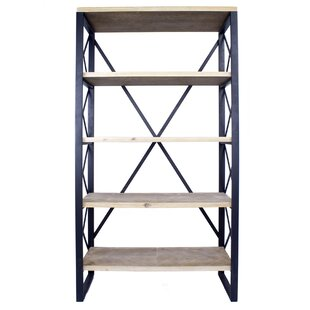 Hogansville 5 Shelf Etagere Bookcase