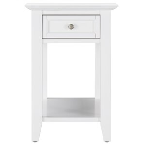 small white end table Loris Decoration