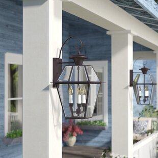 Three Posts Orchard Lane Traditional 3-Light Outdoor Wall Lantern