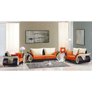 Boltz Configurable Living Room Set by Orren Ellis