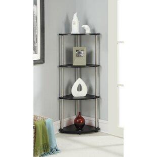 Zipcode Design Nova 4 Tier Corner Unit Bookcase