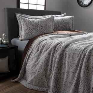 Hertfordshire Mink 3 Piece Comforter Set