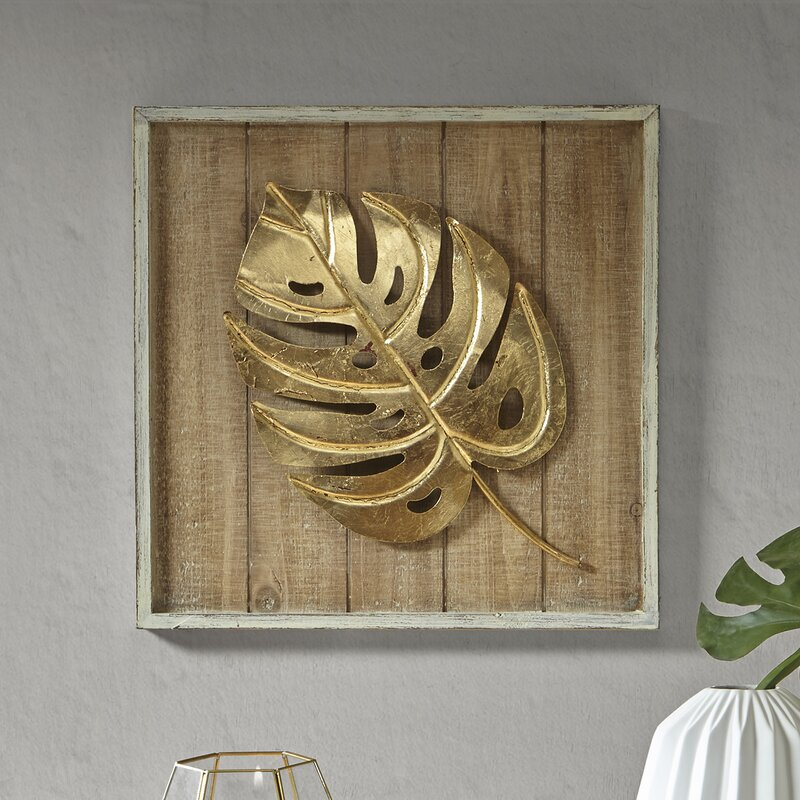 Monstera Leaf Wall Décor