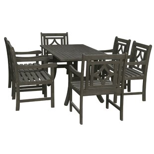Densmore 7 Piece Patio Dining Set